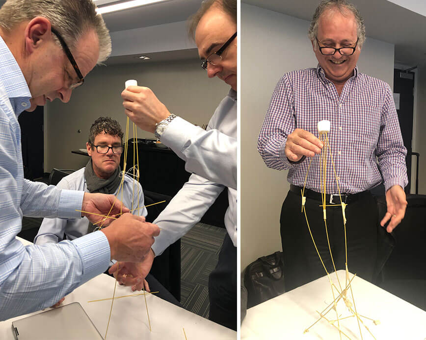 Better Team Building with The Marshmallow Challenge | via ECHOtape.com